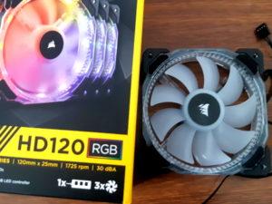 Corsair HD120 RGB LED